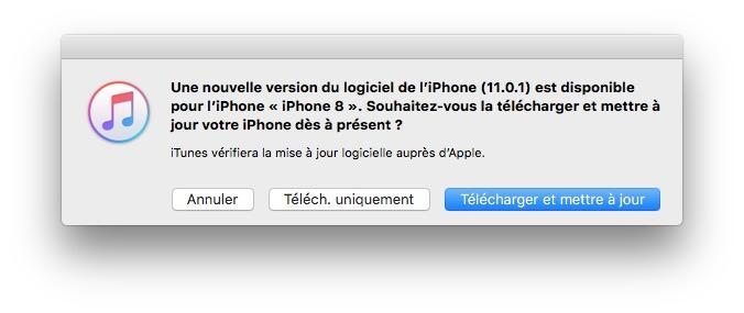 iOS 11.0.1 : actualización disponible (enlaces IPSW) 3