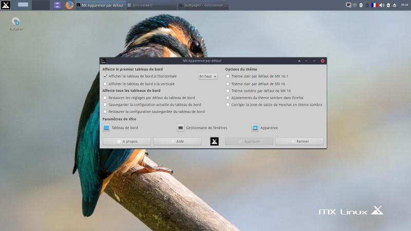 Escritorio Linux MX-16.1 XFCE para probar con placer 3