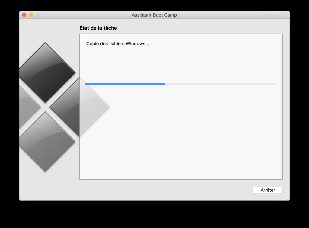 Instalación de Windows en un MacBook Pro Retina 4