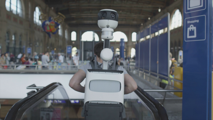Google muestra una nueva mochila para tomar fotos en Street View