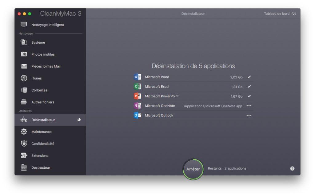 Eliminar una aplicación en macOS Sierra (10.12) 7