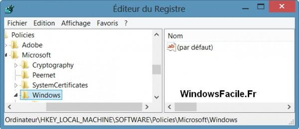 Windows 8: evitar el reinicio automático 3