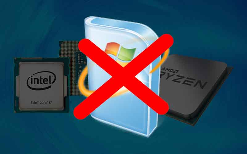 Procesadores Intel Kaby Lake y AMD Ryzen: Windows 7 y 8.1 ya no recibirán actualizaciones. 1