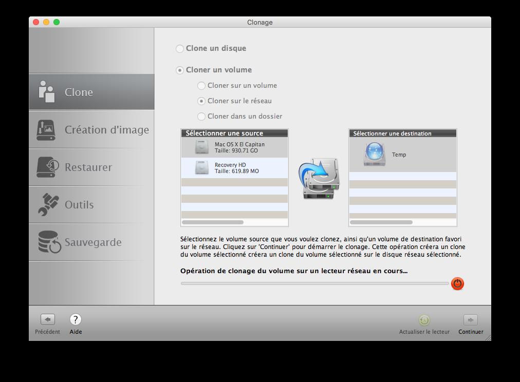 Clone El Capitan Mac OS X (10.11) : copia perfecta en disco 5