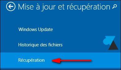 Windows 8.1: Recuperación y reinstalación del sistema 5