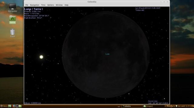 Celestia, mira los planetas un poco más de cerca. 2