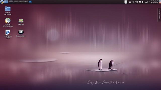 Una actualización de Calcular Linux 13.11.1 1