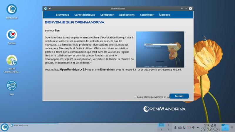 Prueba de OpenMandriva Lx 3.02 con el entorno de escritorio Plasma 5.9.5 3