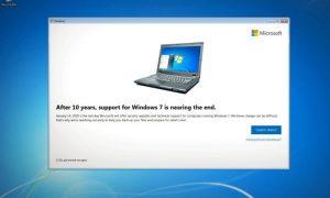 Windows 7 se actualiza para advertir que el soporte finaliza en enero de 2020