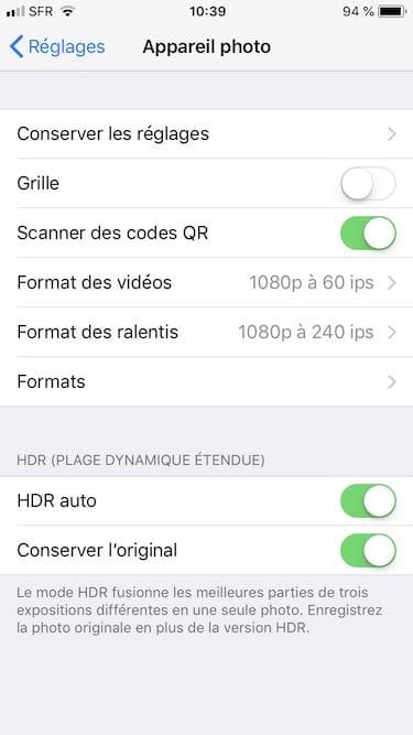 Toma fotos en JPEG en iPhone en lugar de en HEIF 1