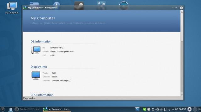 Netrunner 13.12 aún más características 3