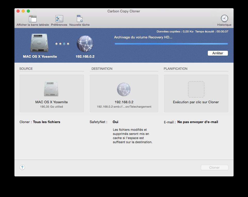 Cómo clonar Yosemite (Mac OS X 10.10) 4