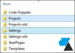 Copia de seguridad de un entorno de desarrollo de Visual Studio 4