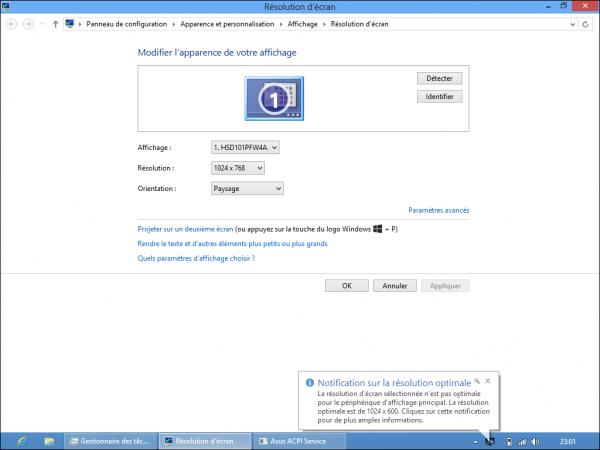 Windows 8 en un netbook 1024×600 10