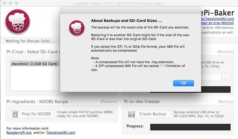 Clonar una tarjeta SD en Mac (copia de imagen perfecta) 3