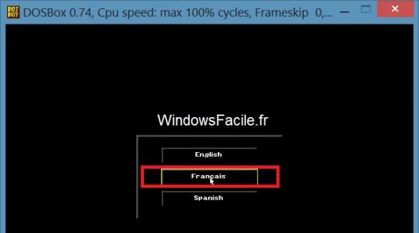 Windows 8: Juegos de DOS 16