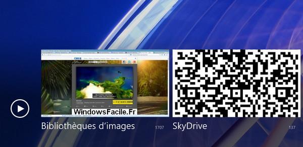Windows 8: inicie fácilmente una presentación de diapositivas de imágenes 3