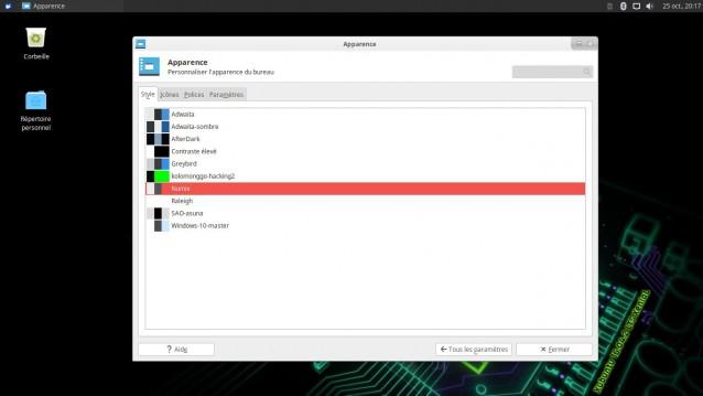 Cambiar el tema y los iconos en Xubuntu 4