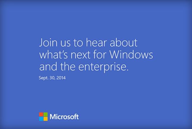 Viene un nuevo Windows: Microsoft confirma el evento para el 30 de septiembre