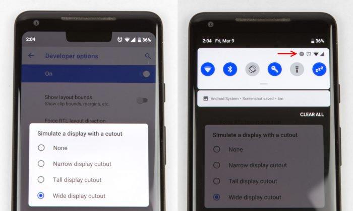La pequeña noticia en el primer avance de Android Pie 5