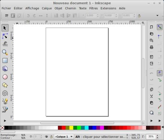 Recorte una foto o imagen con Inkscape. 1