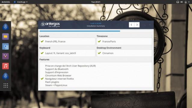 Instala Antergos 17.10 y elige tu entorno de escritorio 12