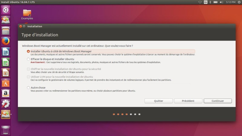 Cómo instalar Ubuntu Linux 16.04 LTS junto a Windows 10 UEFI GPT 10