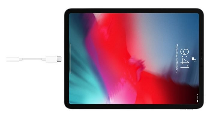 iPad Pro no tiene conector para auriculares; el adaptador USB-C cuesta R$ 79