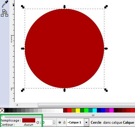 Cómo dibujar una pelota de Navidad con Inkscape 3