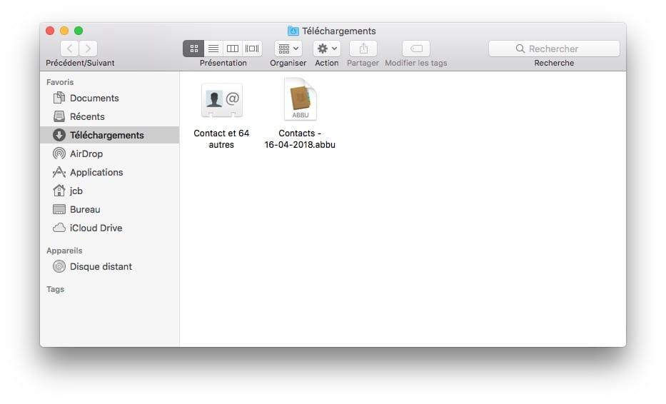 Exporta tus contactos de iPhone, iCloud y Mac 5