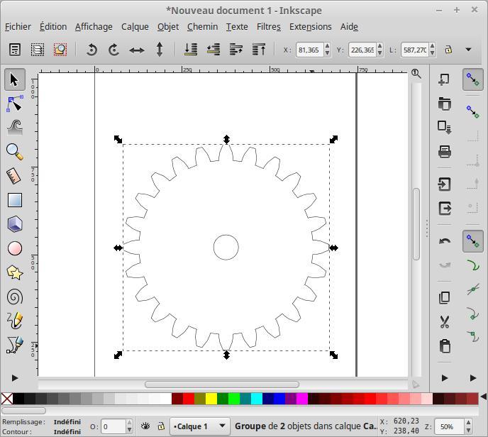 Cómo hacer un dibujo de engranajes 2