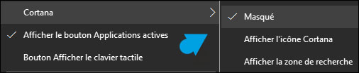 Windows 10: eliminar la barra de búsqueda 4