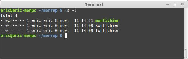 Comprensión de los permisos de archivo en Linux 2