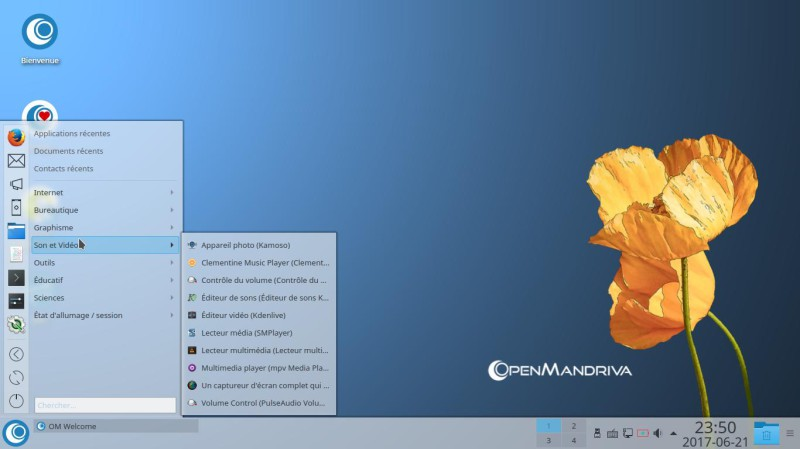 Prueba de OpenMandriva Lx 3.02 con el entorno de escritorio Plasma 5.9.5 4