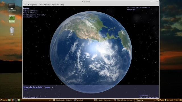 Celestia, mira los planetas un poco más de cerca. 3