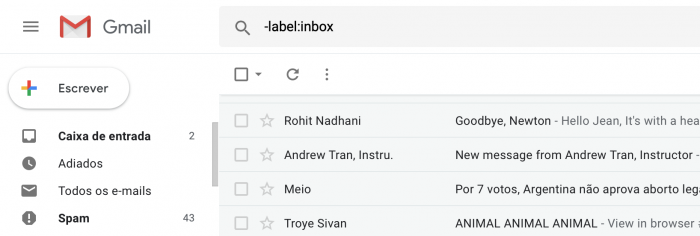 Cómo buscar mensajes de correo electrónico archivados en Gmail (y cómo desarchivarlos) 3