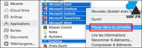 Desinstalación de un paquete de Microsoft Office en Mac 3