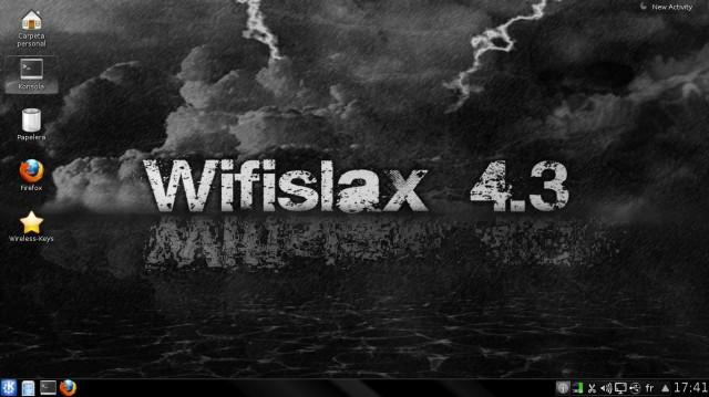 Versión final de Wifislax 4.3 1
