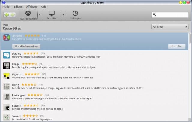 Juega Tetravex en Linux 2