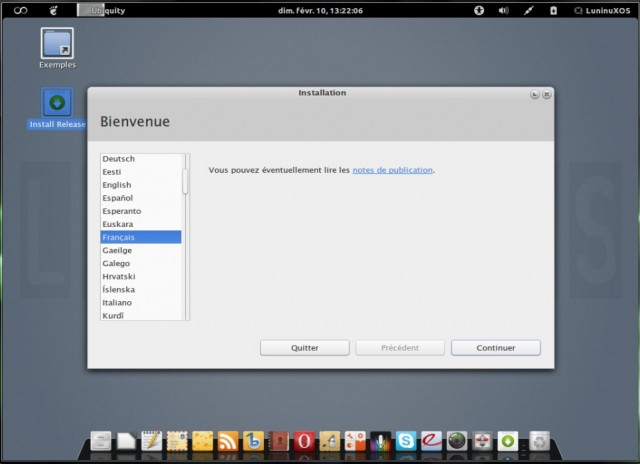 Luninux OS, instalarlo en un disco duro en blanco 2