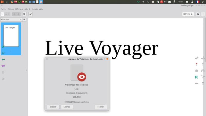 Voyager Linux 16.04.2 LTS basado en el escritorio XFCE de Xubuntu 13