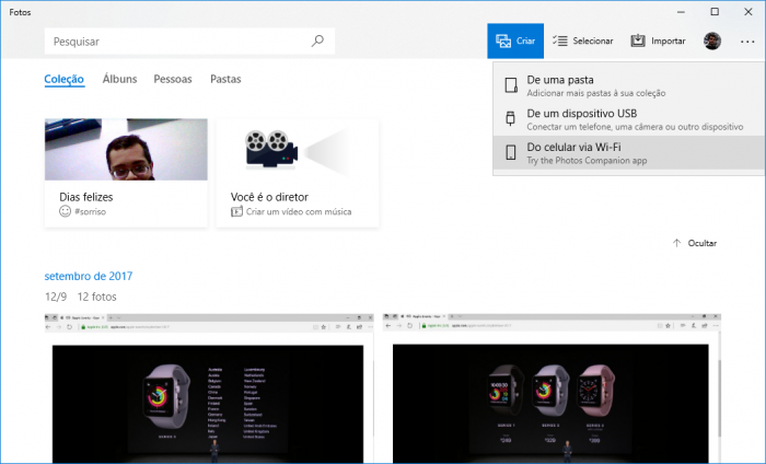 Microsoft lanza una aplicación para transferir fotos desde iOS y Android a su PC 3