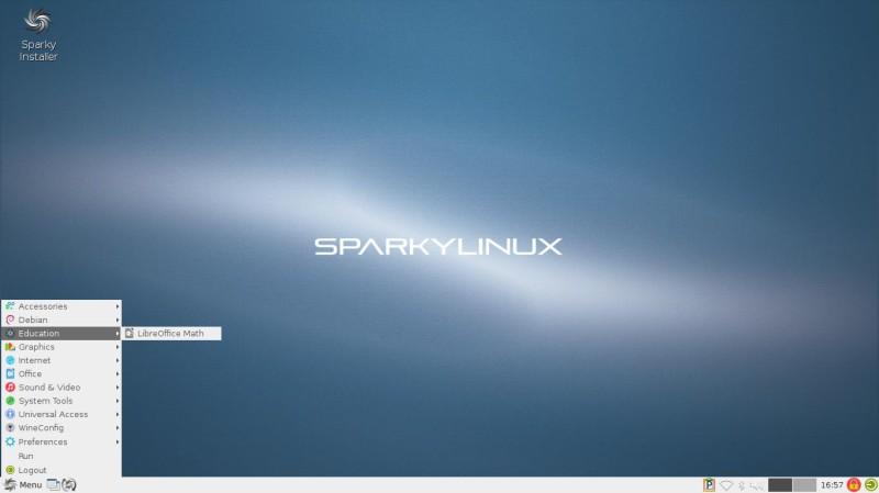 SparkyLinux versión 4.4 con LXDE 2