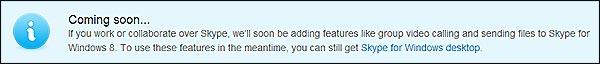 Envío de archivos con Skype para Windows 8 2