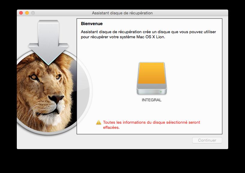 Cómo crear un disco de recuperación de Yosemite (Mac OS X 10.10) 1