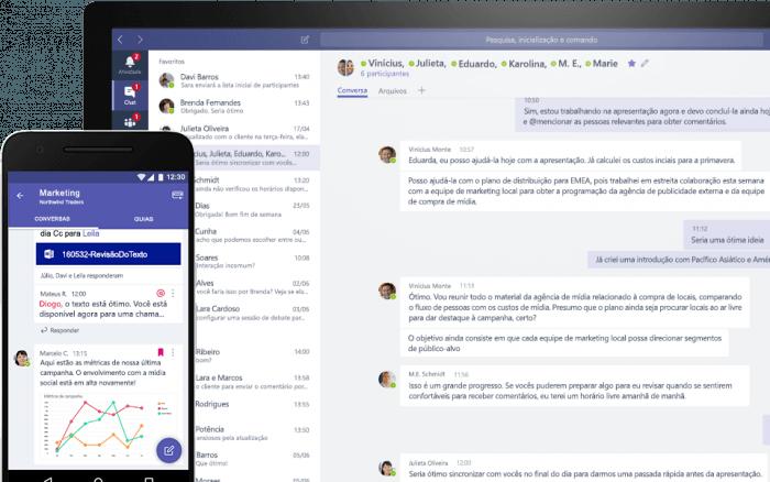 Microsoft lanza una versión gratuita de Teams para competir con Slack