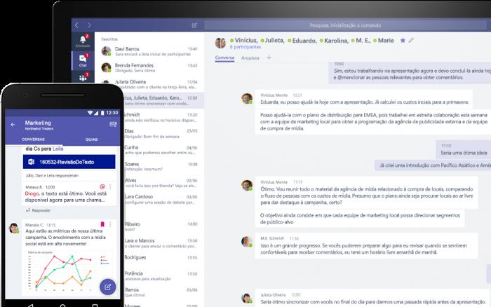 Microsoft lanza una versión gratuita de Teams para competir con Slack 1