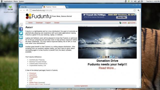 Fuduntu, una nueva versión 2012 4 2