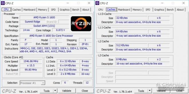 AMD Ryzen 5 1600 : puntos de referencia muy prometedores en los videojuegos 2