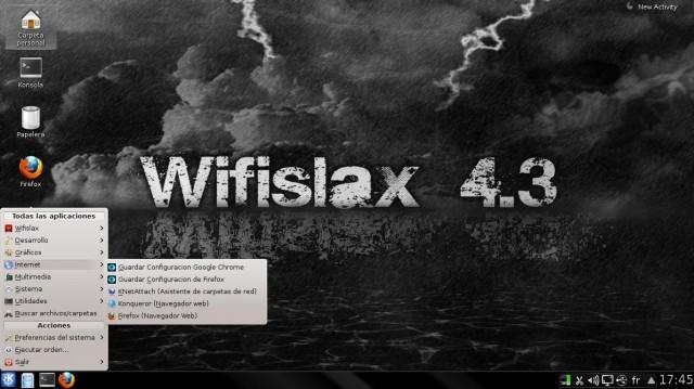 Versión final de Wifislax 4.3 3